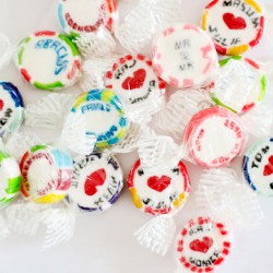 Personalised Rock Sweets