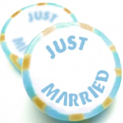 Just Married Rock Sweets