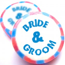 Bride and Groom Rock Sweets