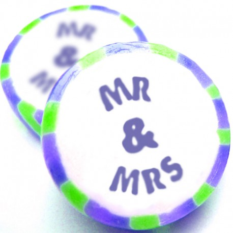 Mr and Mrs Rock Sweets