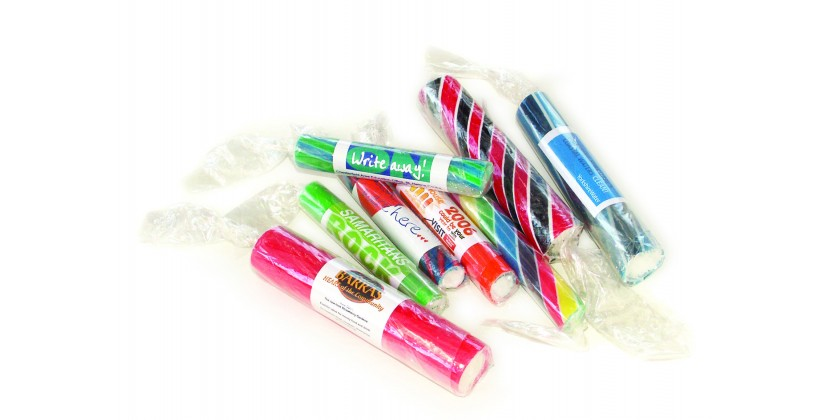 Rock Sticks and Rock Sweets are a great promotional item